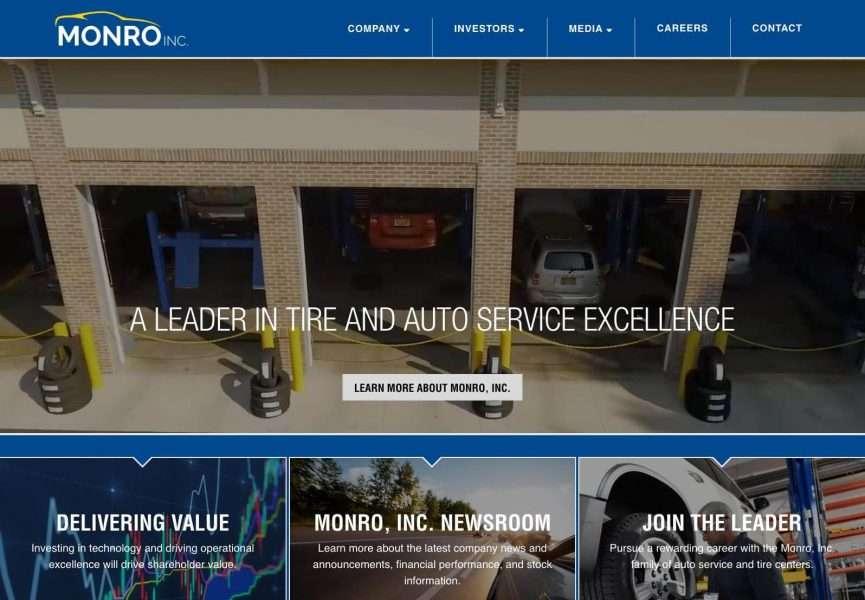 Monro, Inc. Desktop Screenshot