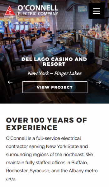 O'Connell Electric Mobile Screenshot