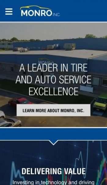 Monro, Inc. Mobile Screenshot