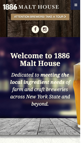 1886 Malt Mobile Screenshot