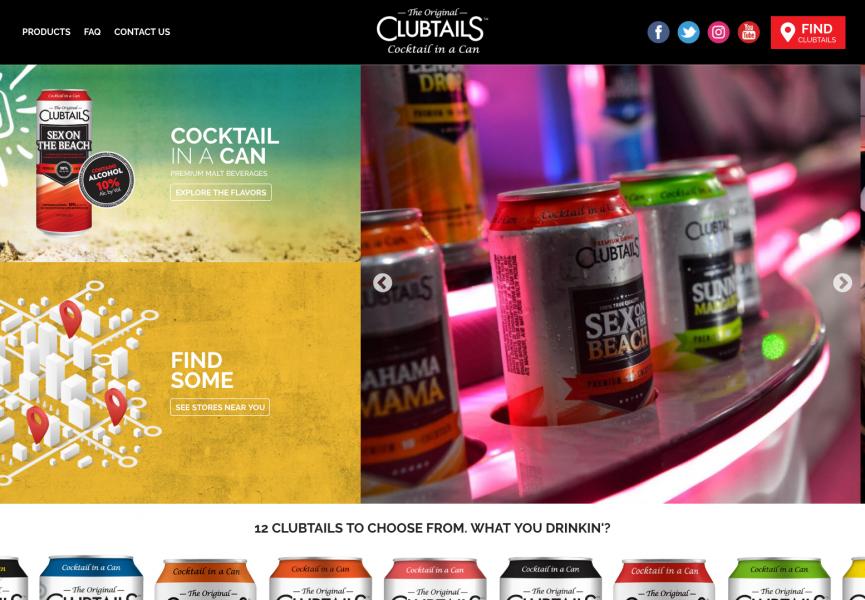 Clubtails Desktop Screenshot