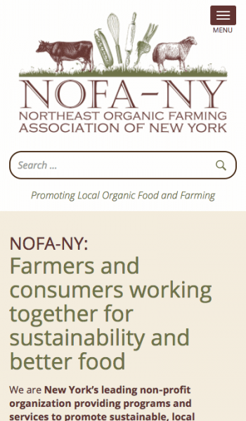NOFA NY Mobile Screenshot